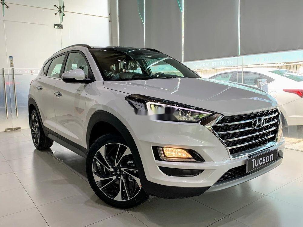 Bán Hyundai Tucson đời 2019, màu trắng, tặng gói phụ kiện (2)