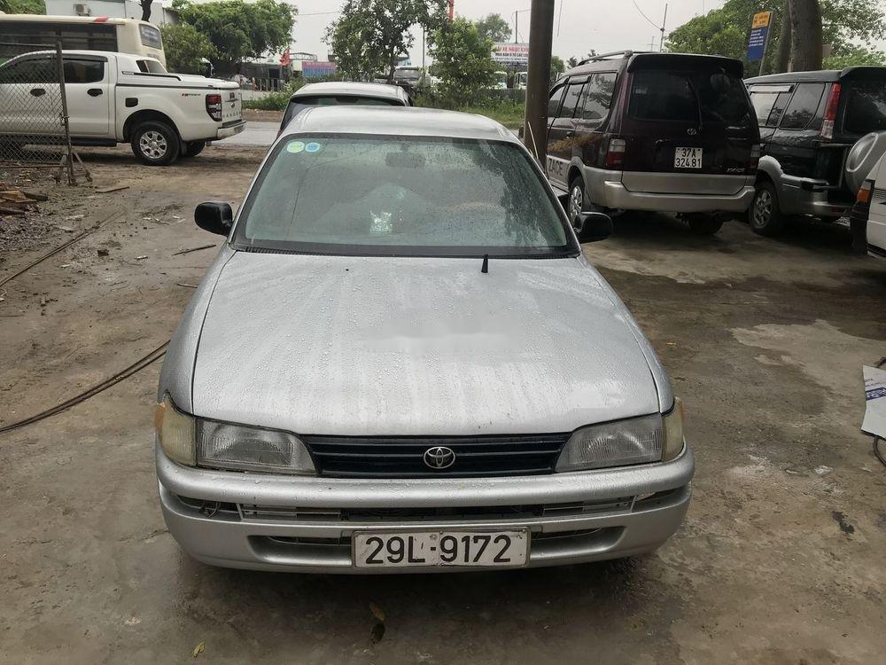 Bán xe Toyota Corolla đời 1995, màu bạc, nhập khẩu, máy ngon (1)