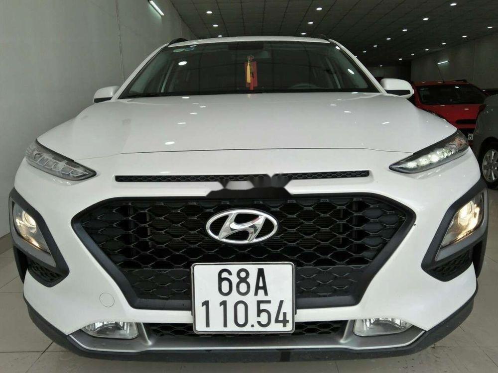 Cần bán lại xe Hyundai Kona đời 2018, màu trắng, nhập khẩu còn mới giá cạnh tranh (1)