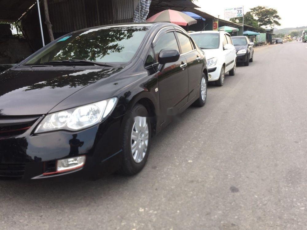 Cần bán lại xe Honda Civic sản xuất 2008, màu đen, nhập khẩu nguyên chiếc còn mới (6)