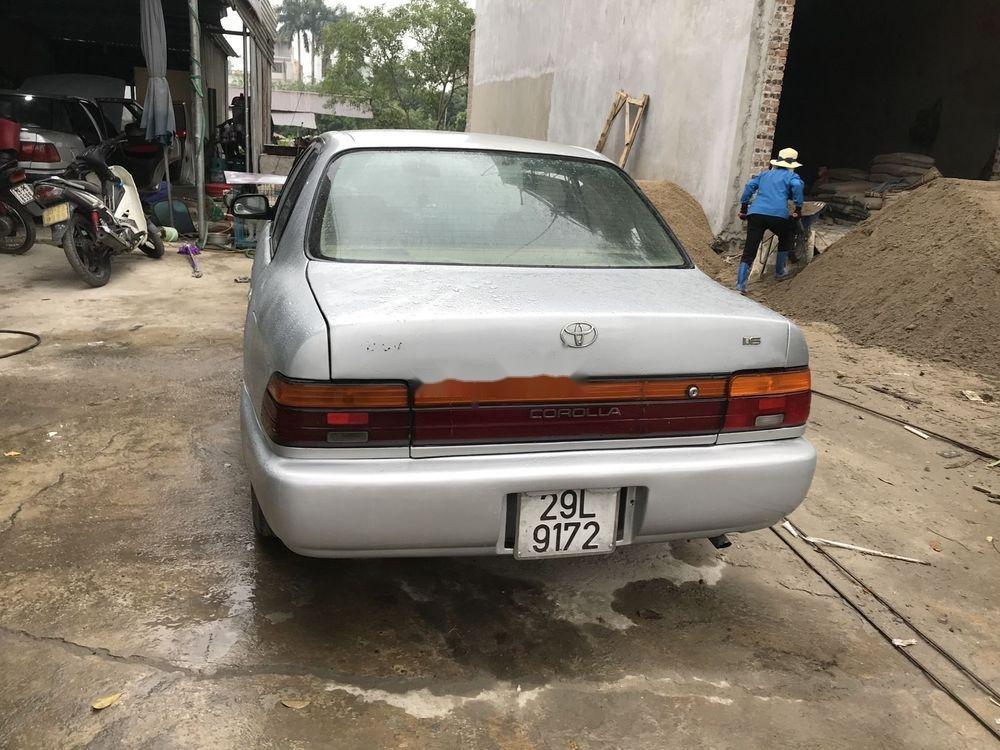 Bán xe Toyota Corolla đời 1995, màu bạc, nhập khẩu, máy ngon (6)