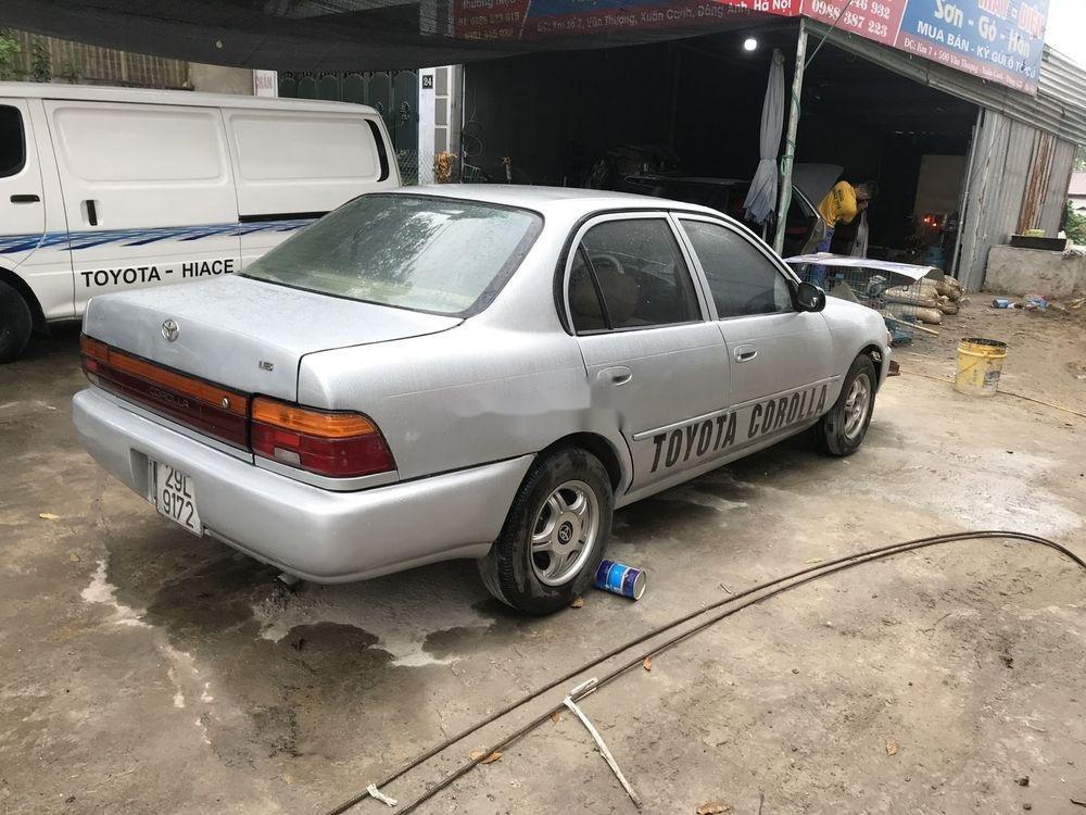 Bán xe Toyota Corolla đời 1995, màu bạc, nhập khẩu, máy ngon (4)