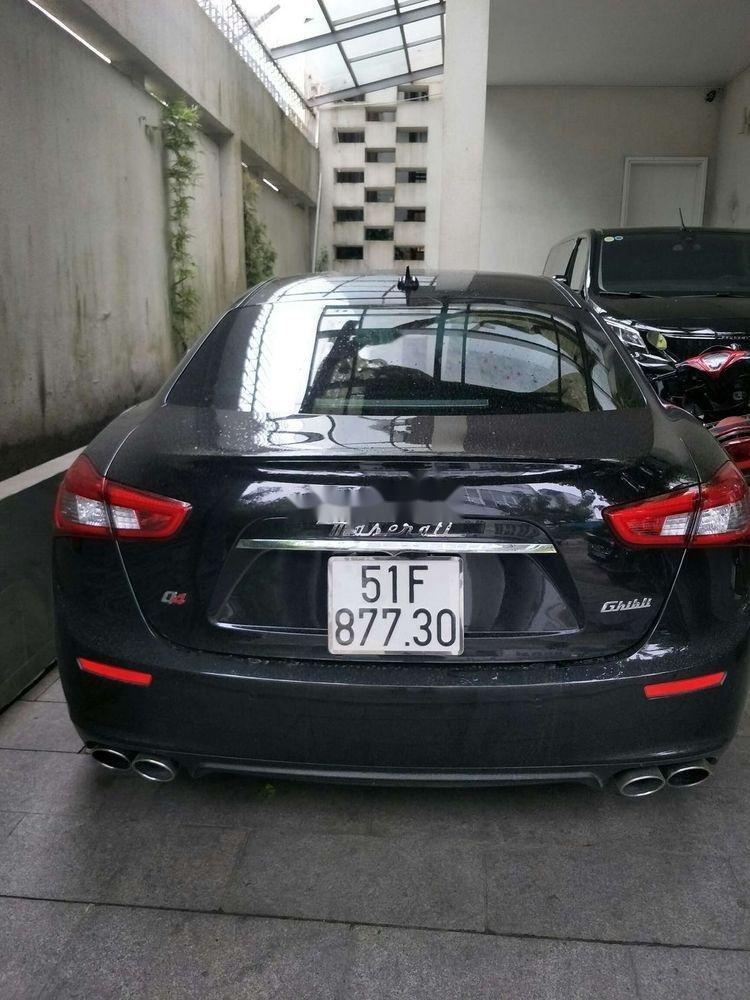 Cần bán lại xe Maserati Ghibli đời 2017, màu đen còn mới (8)