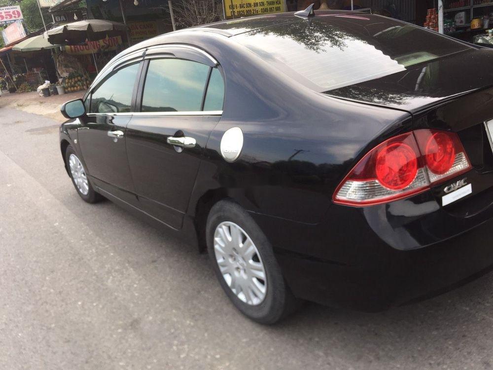 Cần bán lại xe Honda Civic sản xuất 2008, màu đen, nhập khẩu nguyên chiếc còn mới (7)