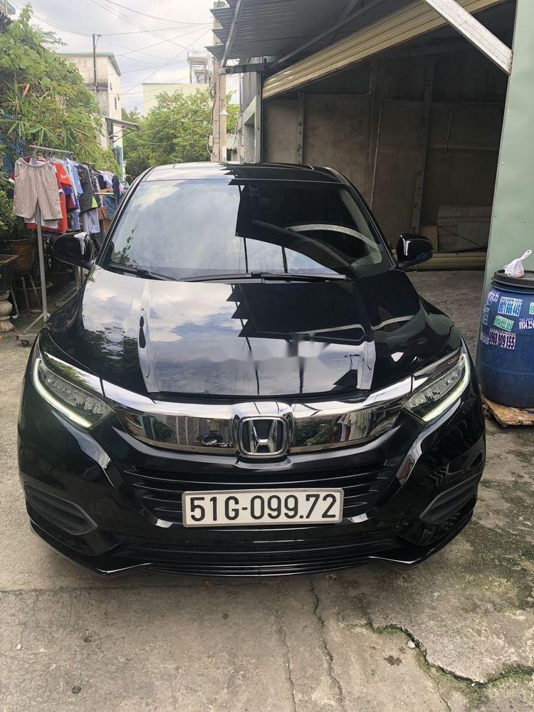Bán Honda HR-V năm 2018, màu đen, nhập khẩu  (2)