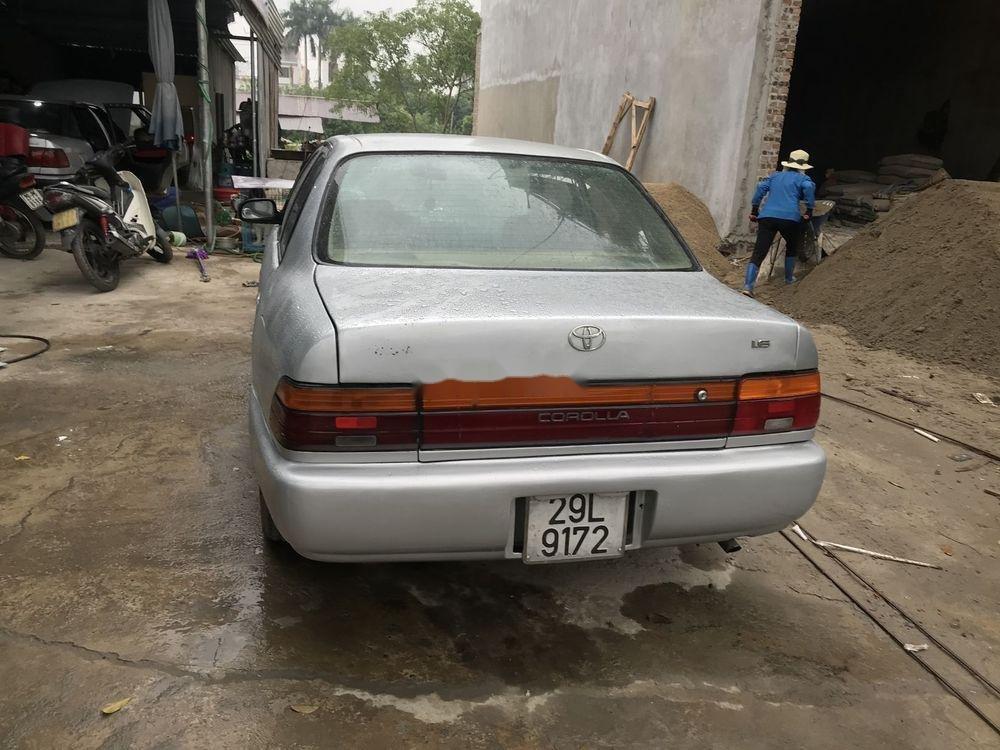 Bán xe Toyota Corolla đời 1995, màu bạc, nhập khẩu, máy ngon (10)