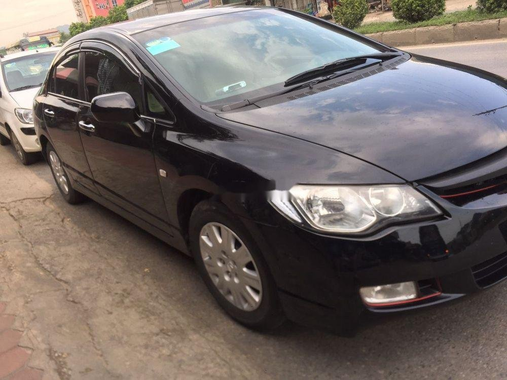 Cần bán lại xe Honda Civic sản xuất 2008, màu đen, nhập khẩu nguyên chiếc còn mới (1)