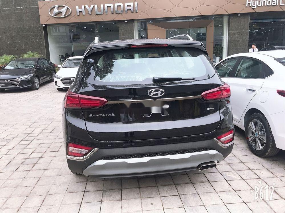 Bán Hyundai Santa Fe đời 2019, màu đen, sẵn giao ngay (4)