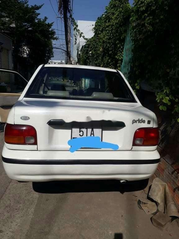 Bán xe Kia Pride năm sản xuất 2002, màu trắng, xe nhập, giá 59tr (5)