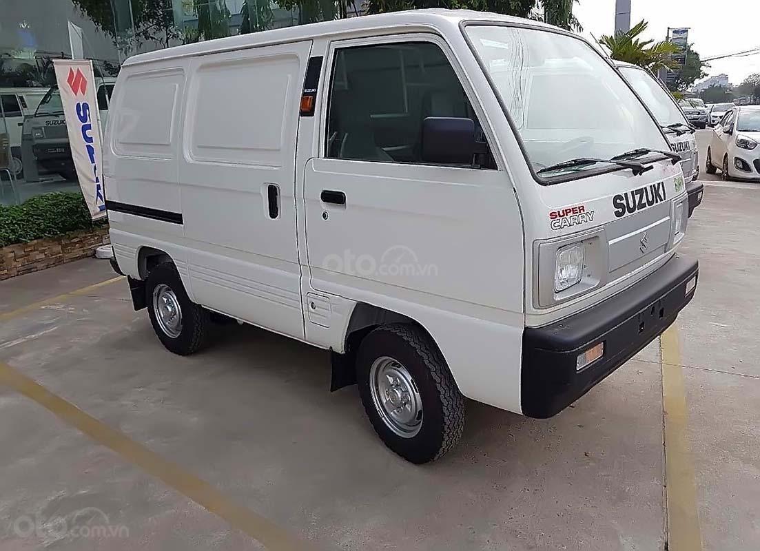 Bán ô tô Suzuki Blind Van đời 2019, màu trắng (1)