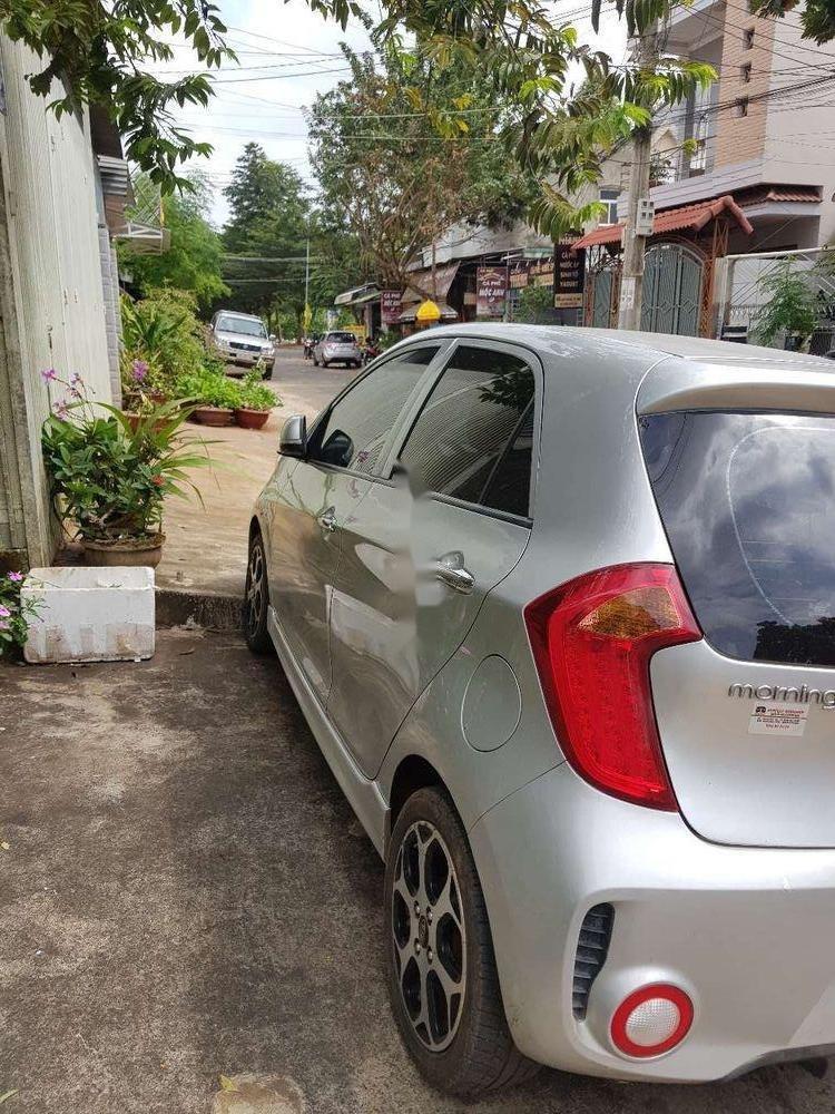 Bán Kia Morning 1.25AT 2015, màu bạc, xe nhập còn mới (3)