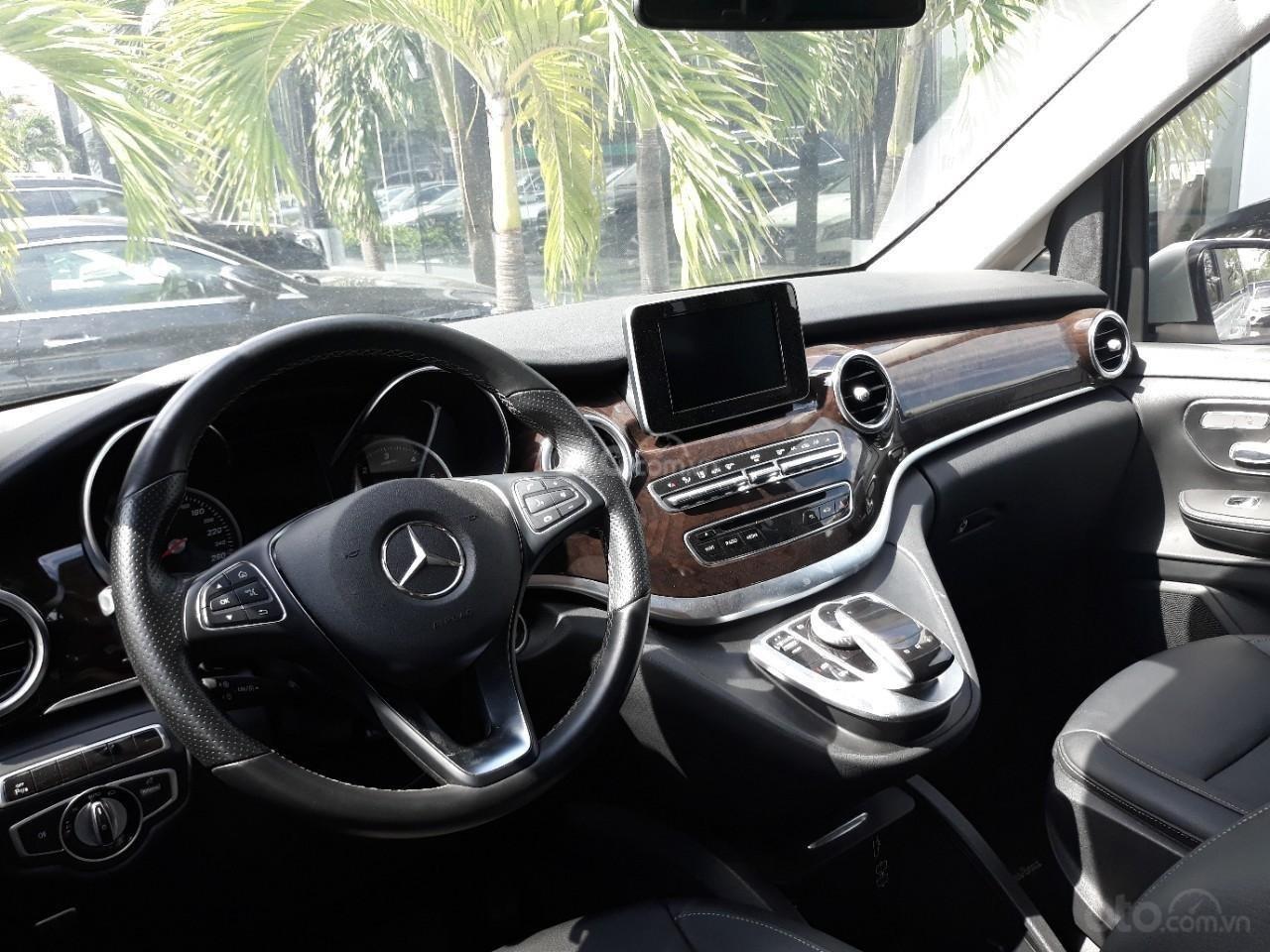 Bán xe Mercedes-Benz V Class 250 đời 2017, màu xám, nhập khẩu nguyên chiếc (6)