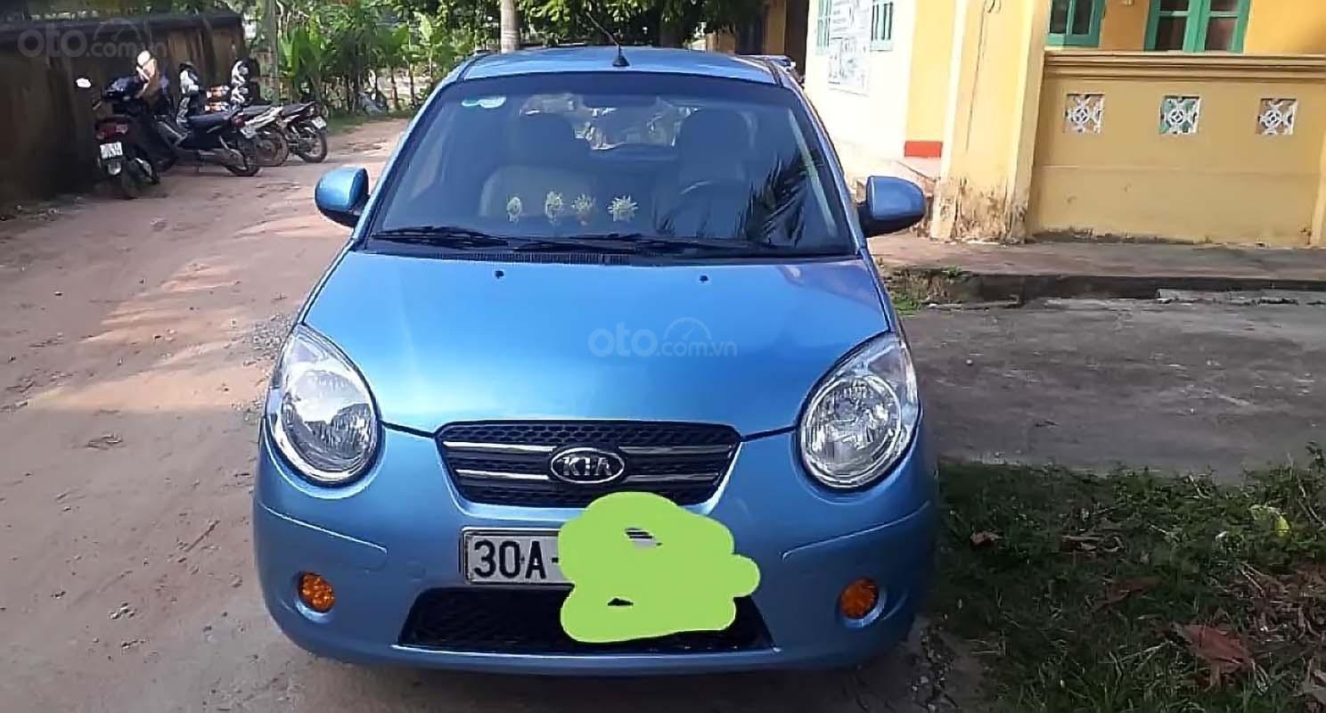 Bán xe Kia Morning năm 2010, màu xanh lam xe gia đình (2)