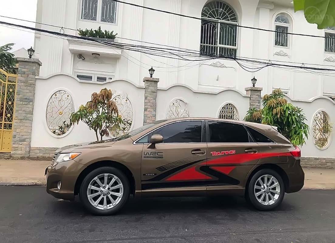 Bán Toyota Venza năm 2010, màu vàng cát, nhập khẩu (1)
