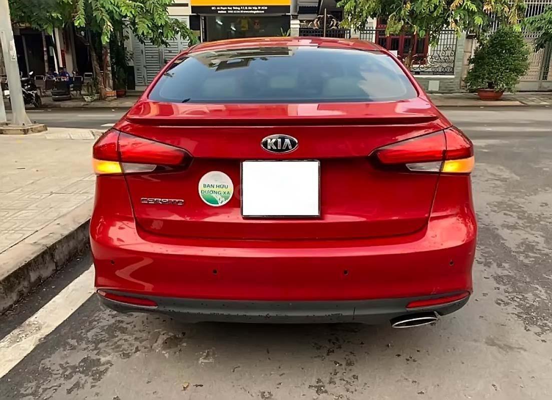 Bán Kia Cerato đời 2016, màu đỏ, số tự động, giá chỉ 535 triệu (2)