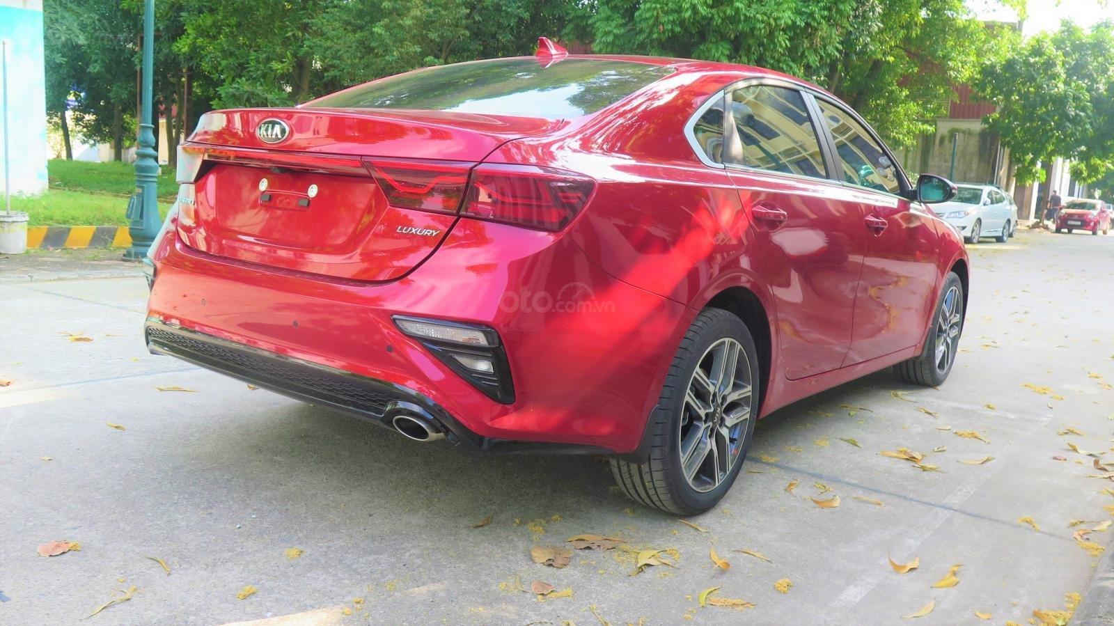 Bán xe Kia Cerato 1.6 AT Luxury SX 2019 màu đỏ giá 635 triệu (5)