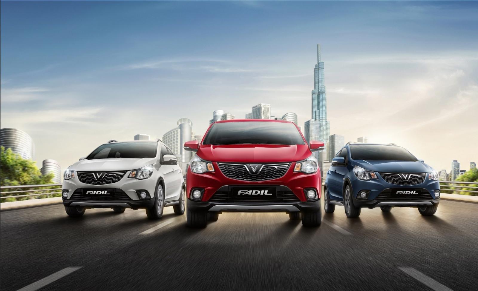 VinFast hỗ trợ lãi vay 2 năm cho khách mua xe Fadil.