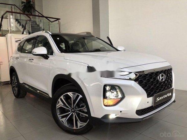 Cần bán xe Hyundai Santa Fe 2019, màu trắng, nhập khẩu nguyên chiếc (3)