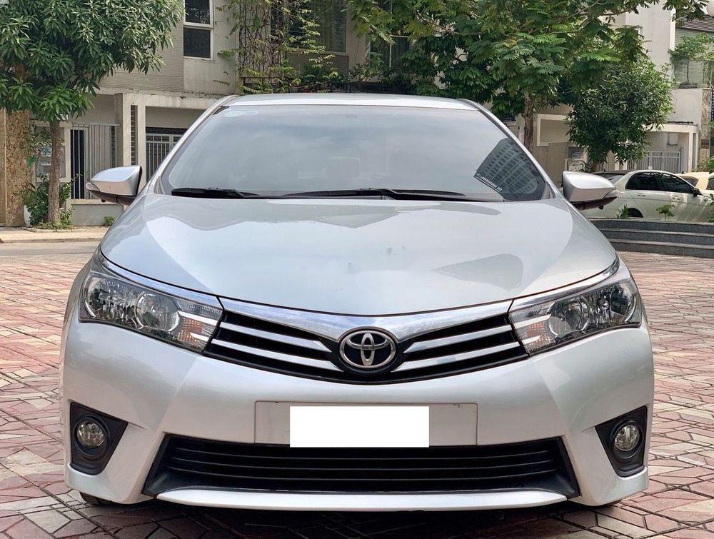 Bán ô tô Toyota Corolla Altis sản xuất năm 2014, màu bạc  (1)