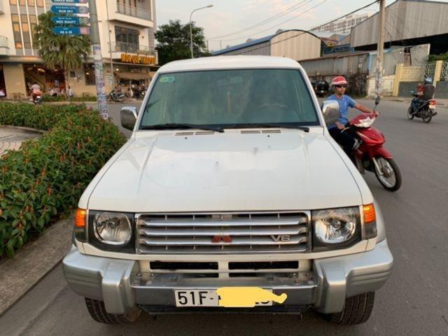 Bán ô tô Mitsubishi Pajero đời 1997, màu trắng, nhập khẩu (1)