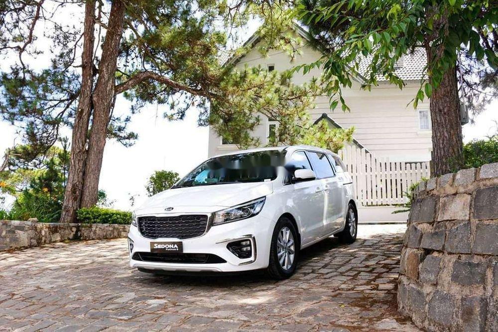 Bán ô tô Kia Sedona sản xuất năm 2019, màu trắng, xe nhập (2)