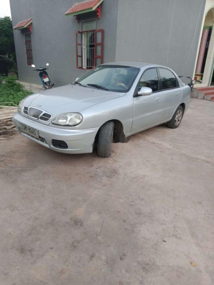 Bán Daewoo Lanos năm 2000, màu bạc, xe nhập xe gia đình (1)