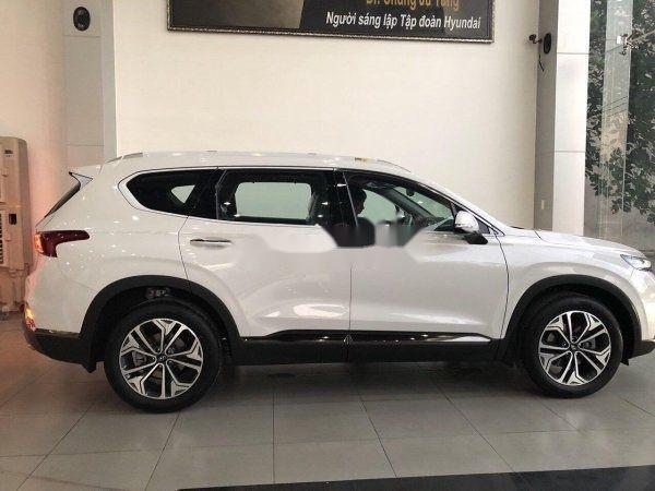 Cần bán xe Hyundai Santa Fe 2019, màu trắng, nhập khẩu nguyên chiếc (2)