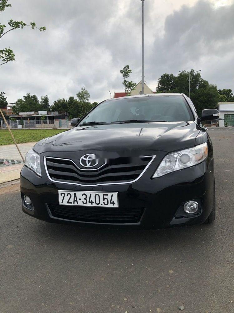 Cần bán xe Toyota Camry đời 2009, nhập khẩu, 640tr (1)