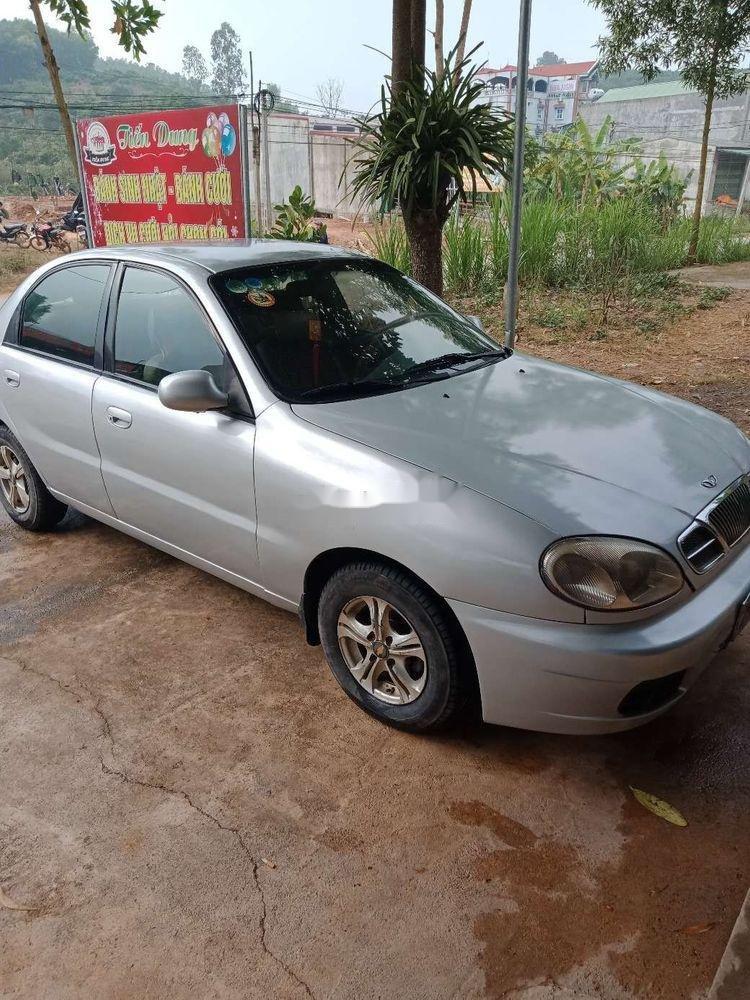 Bán Daewoo Lanos năm 2000, màu bạc, xe nhập xe gia đình (7)