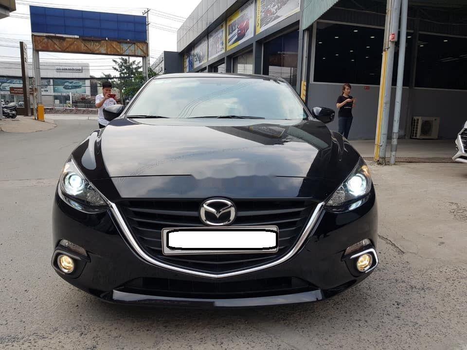 Bán Mazda 3 2016, màu đen còn mới (1)