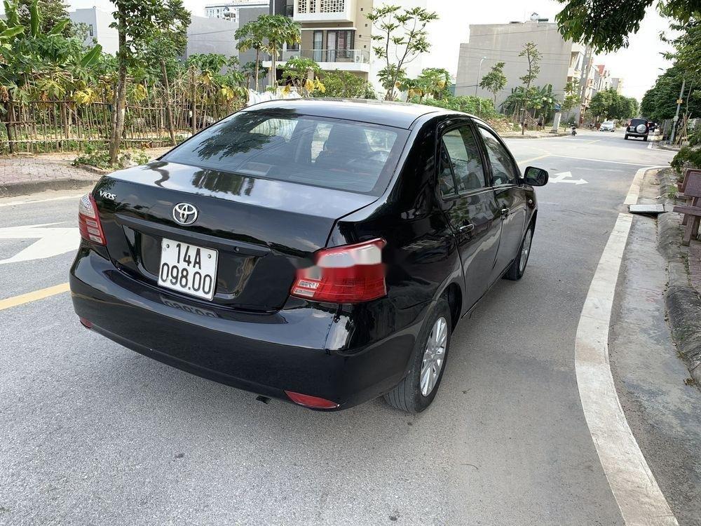 Cần bán gấp Toyota Vios đời 2010, màu đen còn mới, giá 198tr (4)
