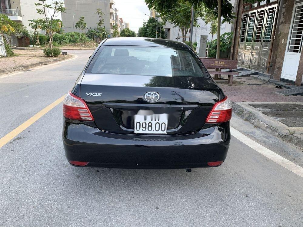 Cần bán gấp Toyota Vios đời 2010, màu đen còn mới, giá 198tr (5)