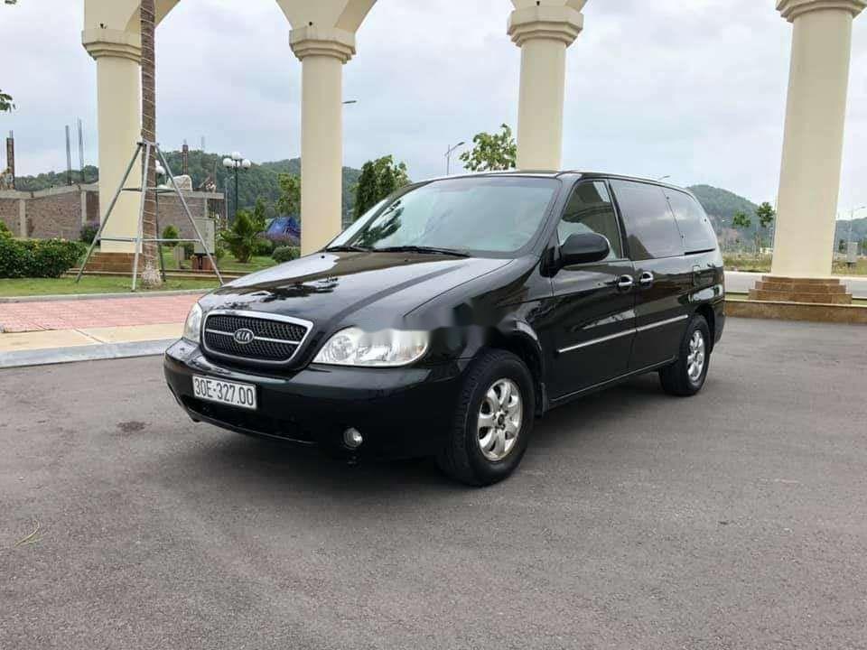 Xe Kia Carnival năm 2009, màu đen, xe nhập còn mới, giá tốt (4)
