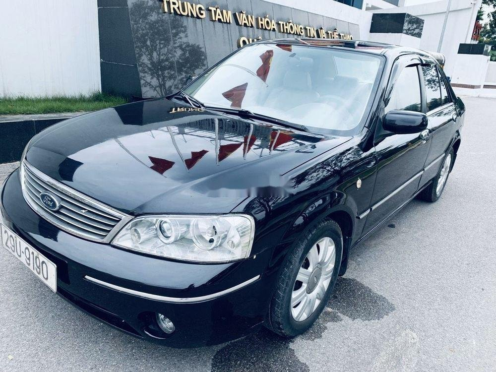 Bán ô tô Ford Laser đời 2004, màu đen còn mới (3)