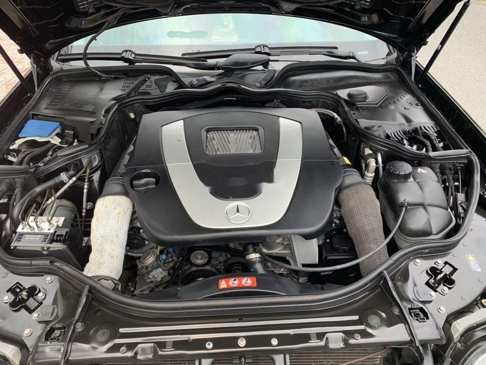 Cần bán xe Mercedes E class đời 2006, màu đen còn mới, 390tr (2)