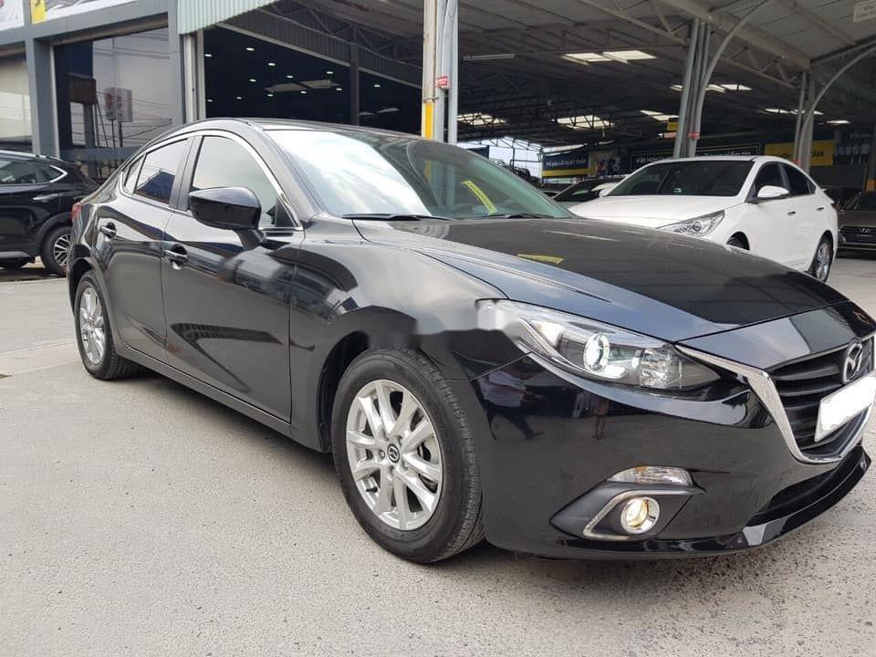 Bán Mazda 3 2016, màu đen còn mới (3)