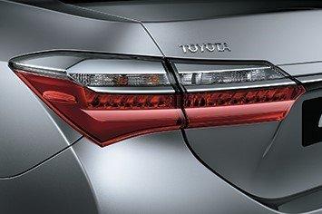 Thiết kế đèn hậu Toyota Corolla Altis 2019 1
