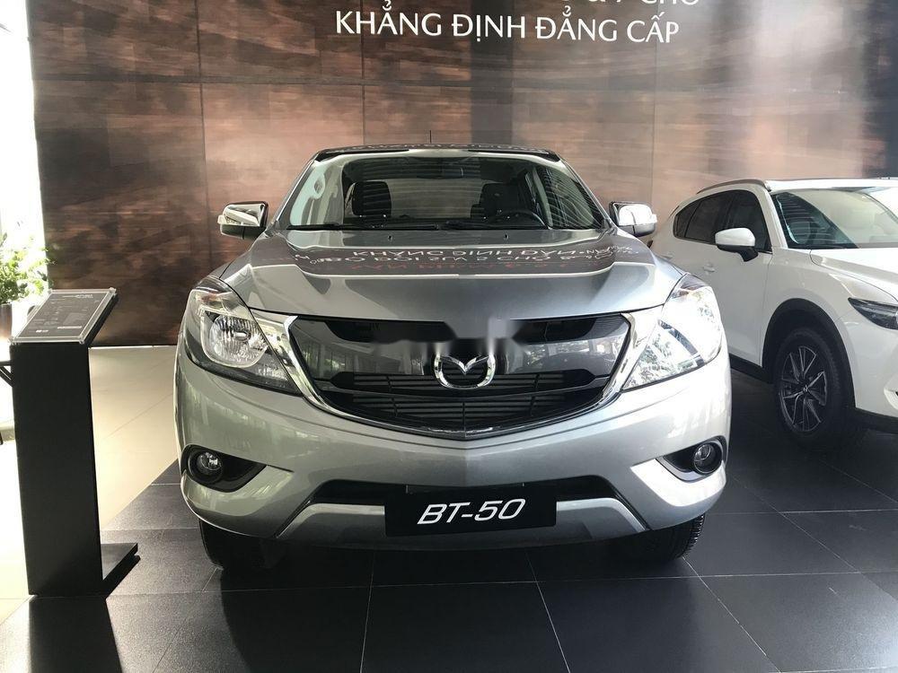 Bán xe Mazda BT 50 MT sản xuất năm 2019, màu bạc, xe nhập giá cạnh tranh (1)