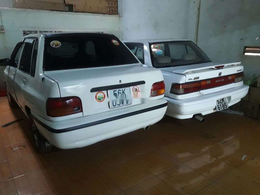 Bán Kia Pride sản xuất năm 1995, màu trắng, xe nhập, giá chỉ 35 triệu (4)