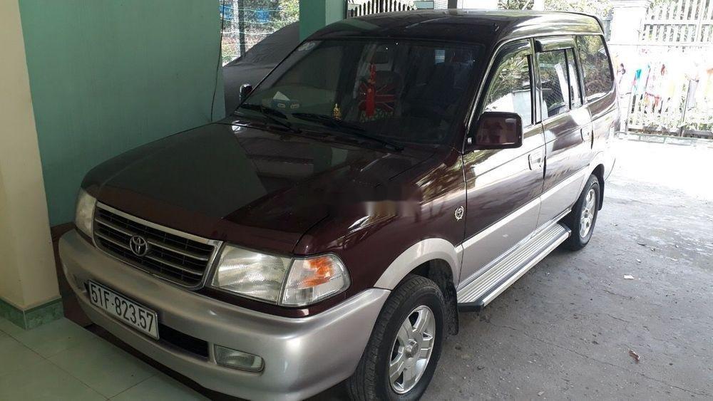 Bán Toyota Zace 2001, màu đỏ, nhập khẩu (7)