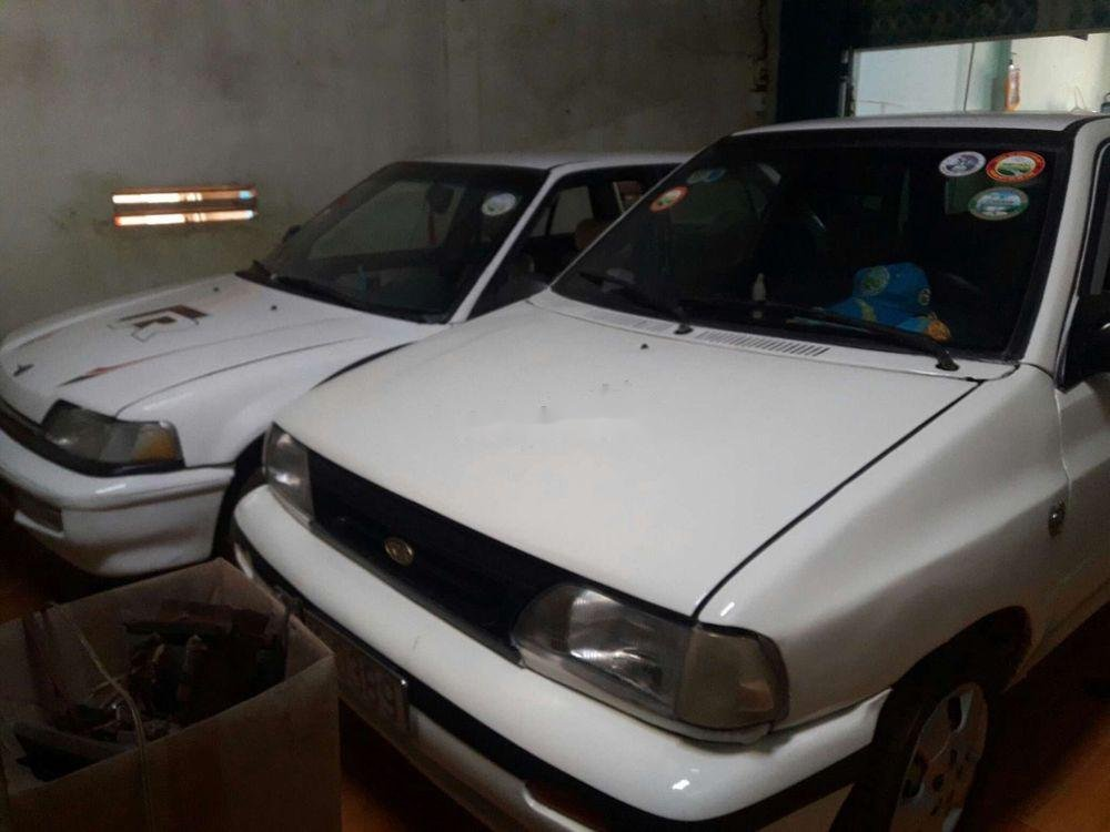 Bán Kia Pride sản xuất năm 1995, màu trắng, xe nhập, giá chỉ 35 triệu (3)