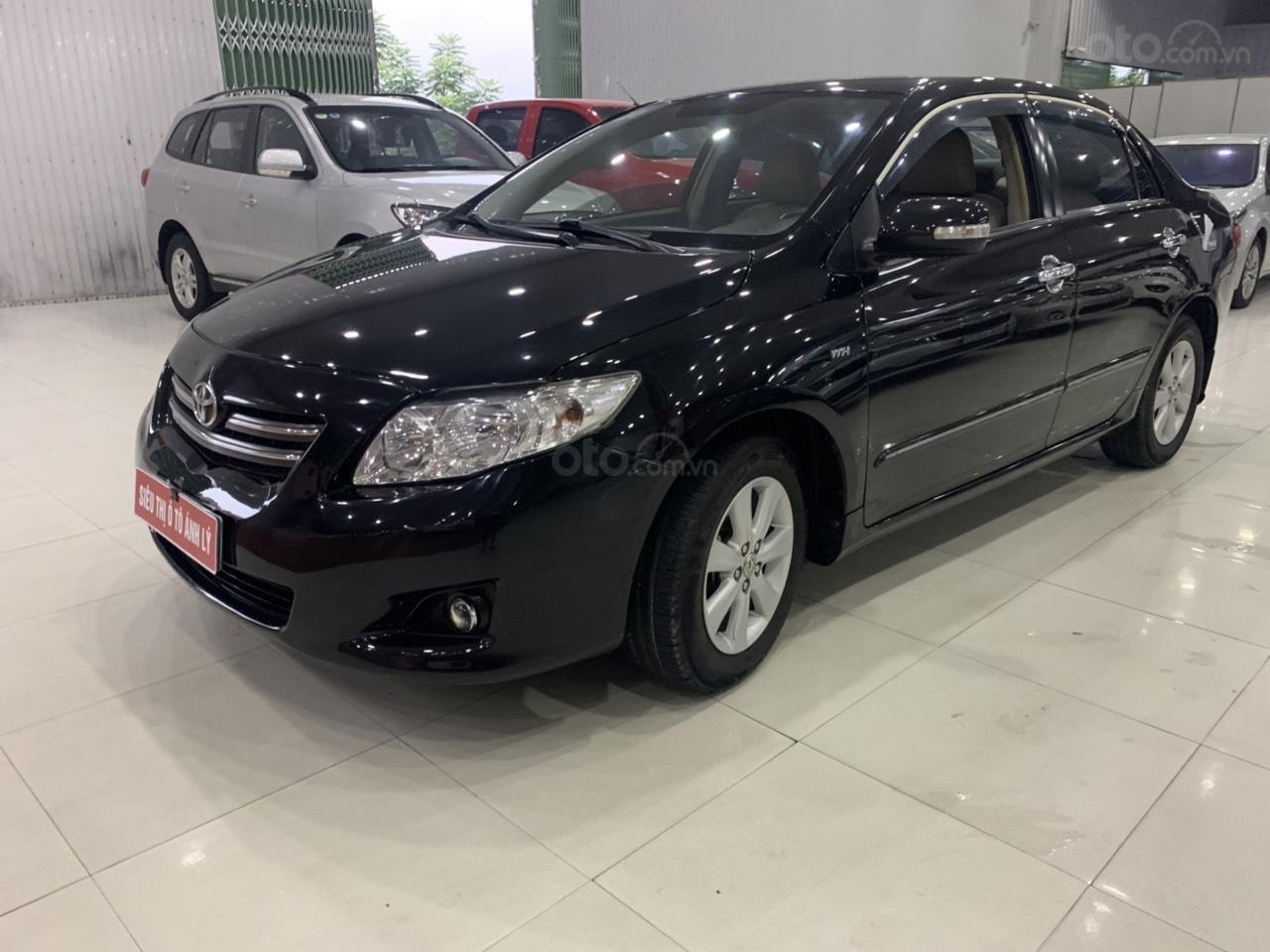Cần bán Toyota Corolla Altis 1.8AT sản xuất năm 2010, màu đen, 445 triệu (3)