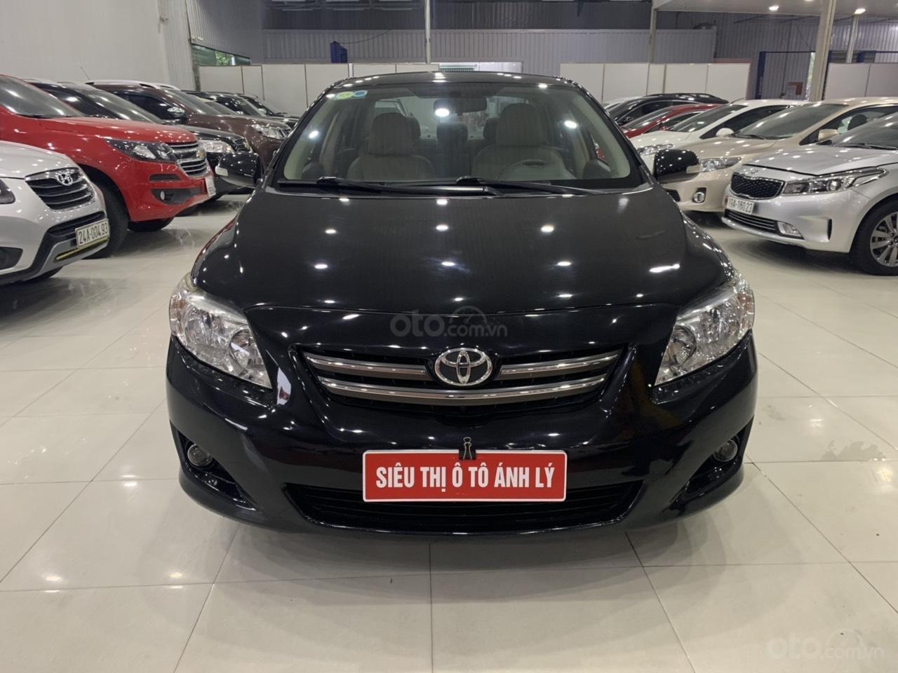 Cần bán Toyota Corolla Altis 1.8AT sản xuất năm 2010, màu đen, 445 triệu (11)