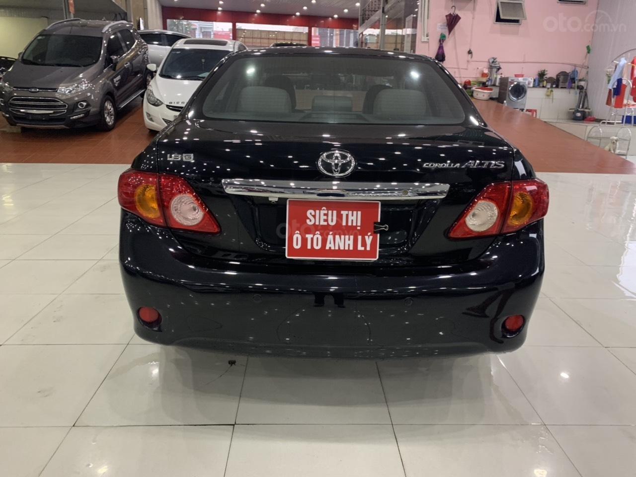 Cần bán Toyota Corolla Altis 1.8AT sản xuất năm 2010, màu đen, 445 triệu (10)
