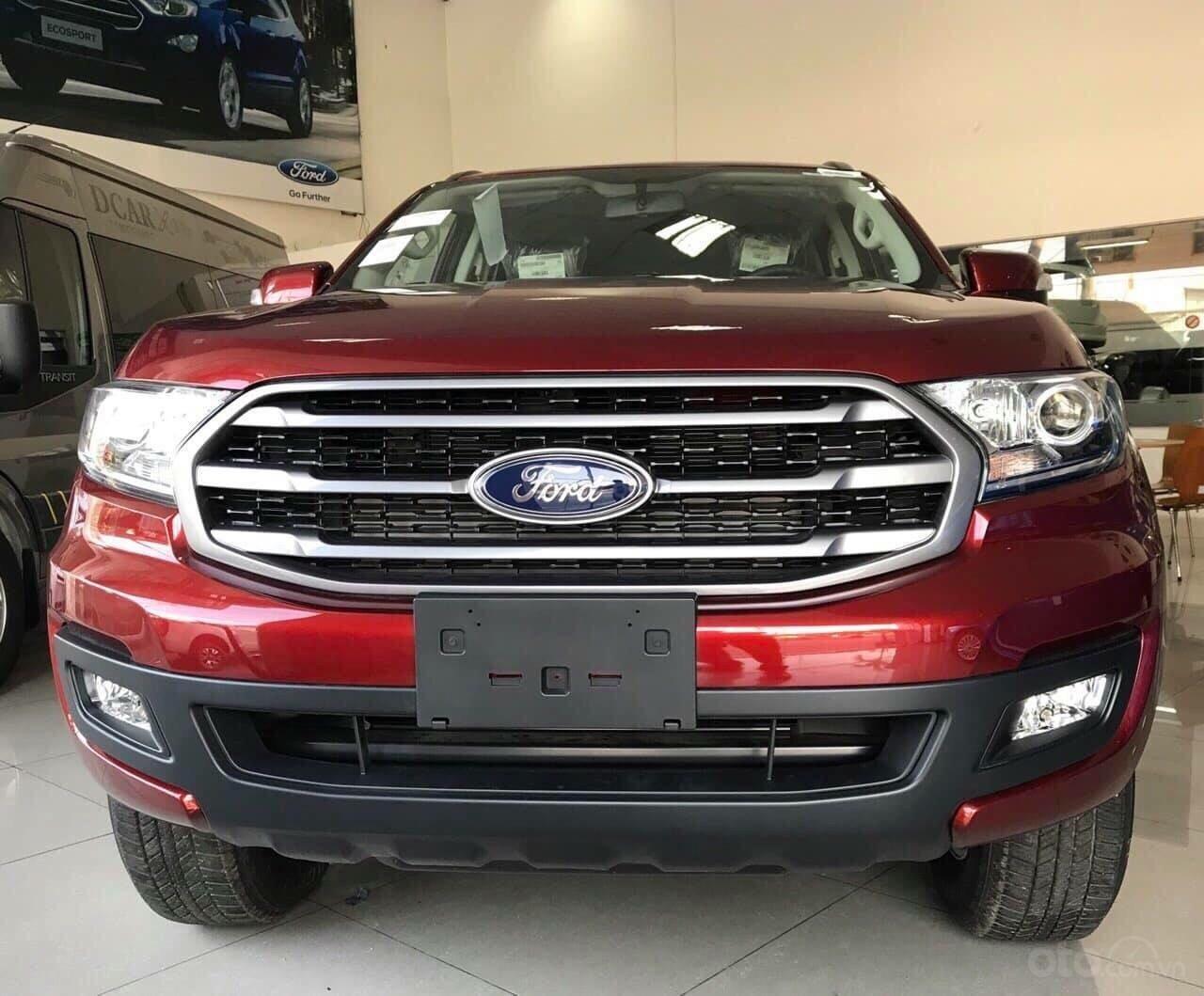 Bán ô tô Ford Everest năm sản xuất 2019, màu đỏ, nhập khẩu nguyên chiếc, giá siêu cạnh tranh (2)