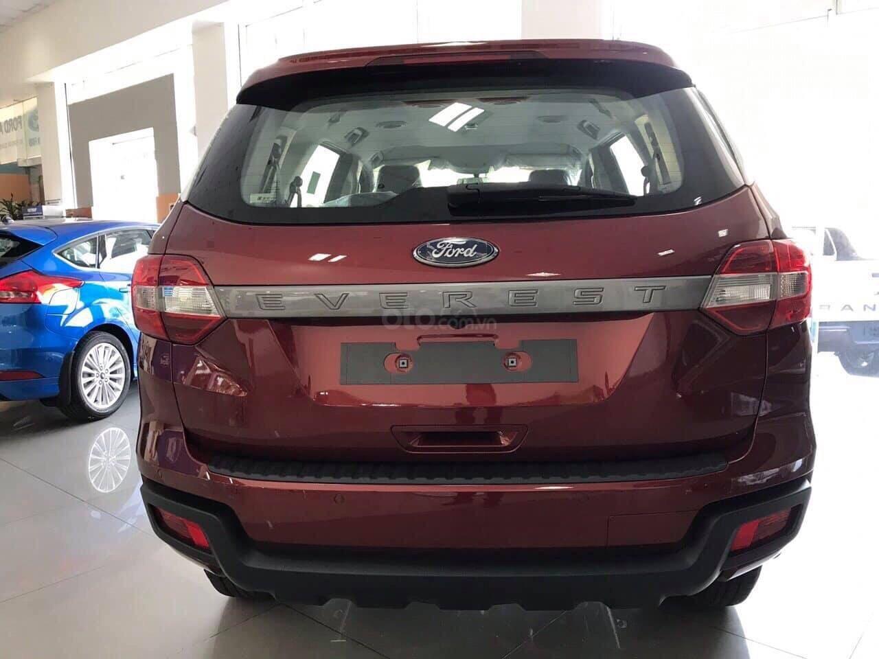 Bán ô tô Ford Everest năm sản xuất 2019, màu đỏ, nhập khẩu nguyên chiếc, giá siêu cạnh tranh (5)