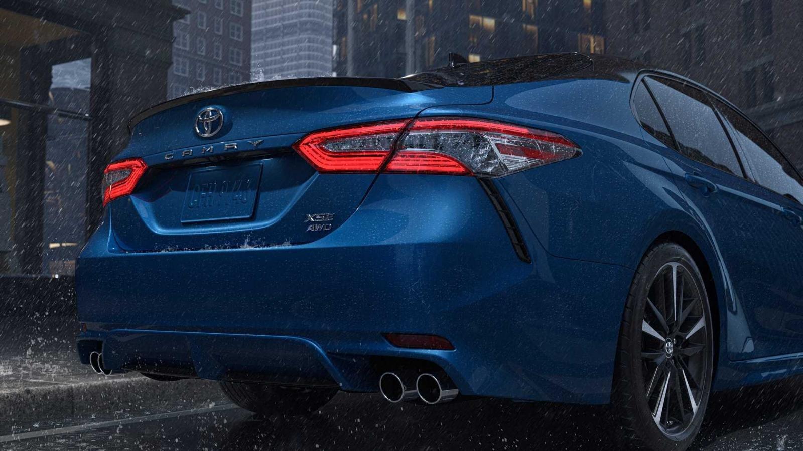 Toyota Camry 2020 AWD cùng Avalon sẽ là biến thể đáng chú ý