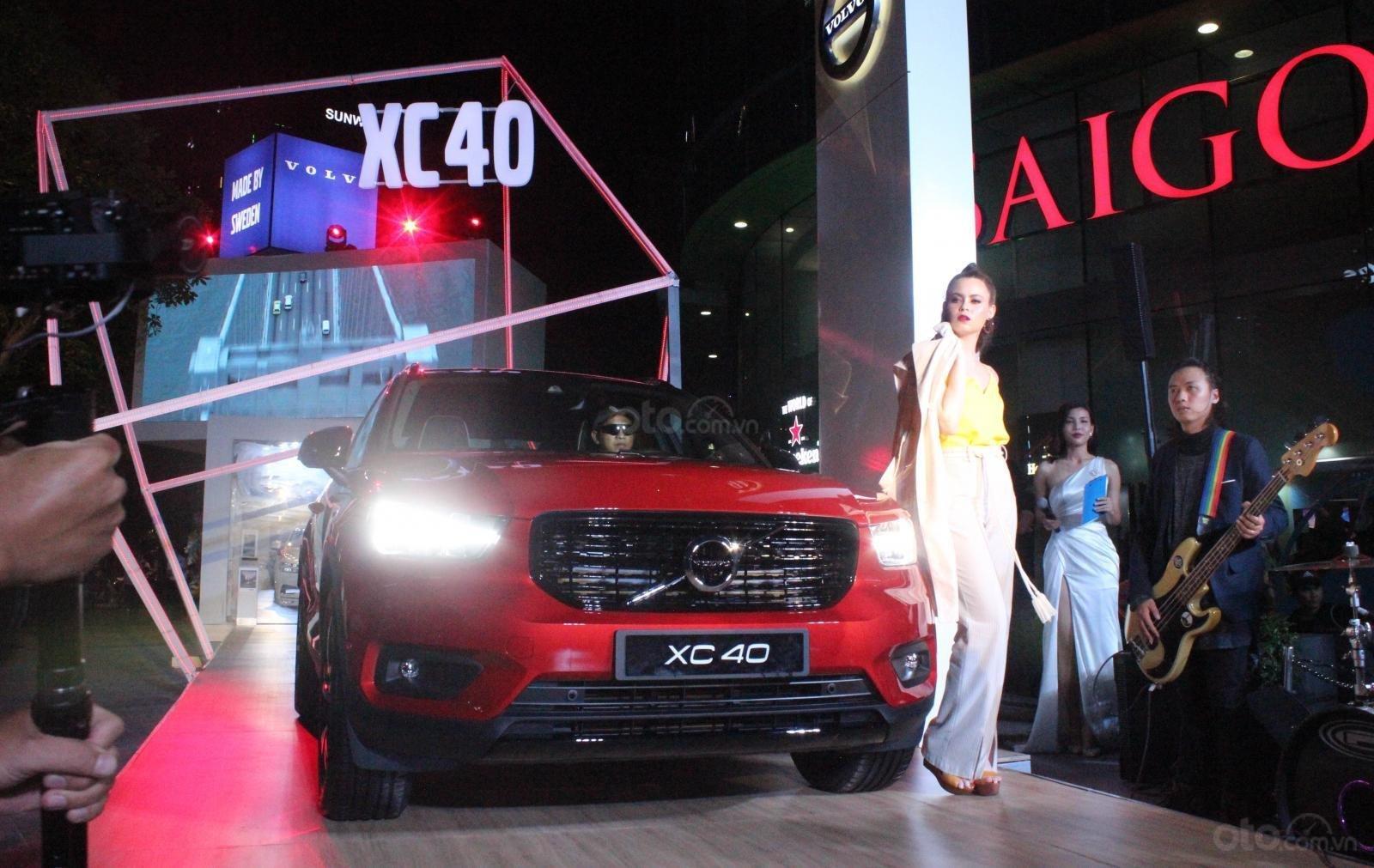 Động cơ xe Volvo XC40 2020