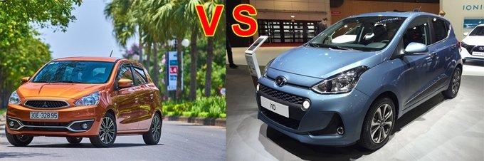 Mitsubishi Mirage sẵn sàng cạnh tranh sòng phẳng với Hyundai Grand i10