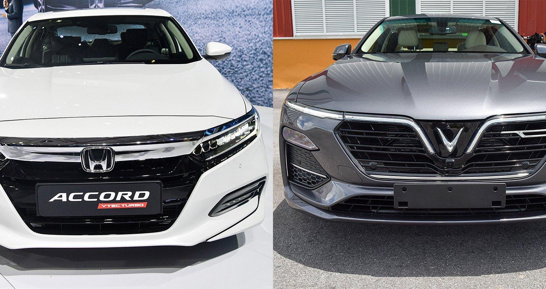 Chọn Accord hay mẫu xe mới nổi Vinfast LUX A2.0